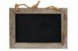 Leinwanddruck Bild - Tafel, Kordel, isoliert