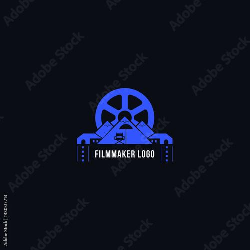Fotografie, Obraz filmmaker logo