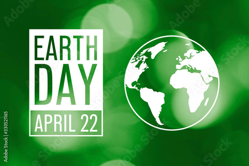 Earth Day background Canvas Print
