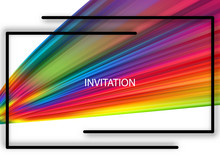 Rainbow Wave Vector Illustrati...