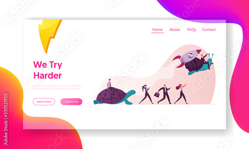 Photo Business Acceleration Landing Page Template