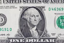 Detail Of One Dollar Bill