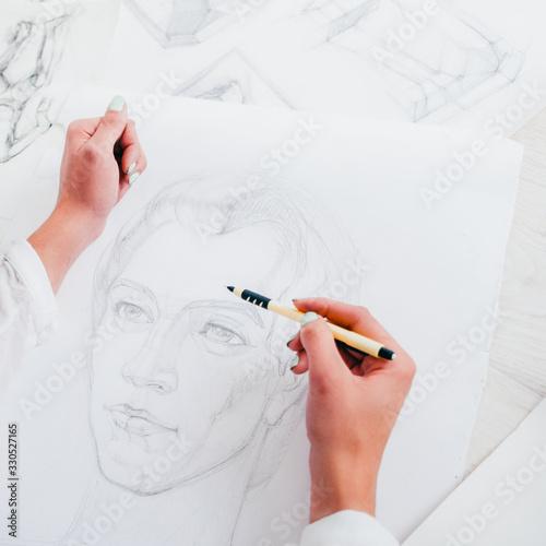 Cuadros en Lienzo Sketching art