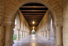 Arches And Columns Walkway In ...