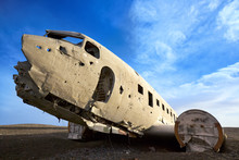 Old Crashed Military Plane In ...