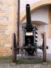 Antique Cannon At The Murten C...