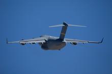 Tail View Of A C-17 Globemaste...