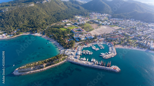 kemer holiday place from antalya turkey Wallpaper Mural