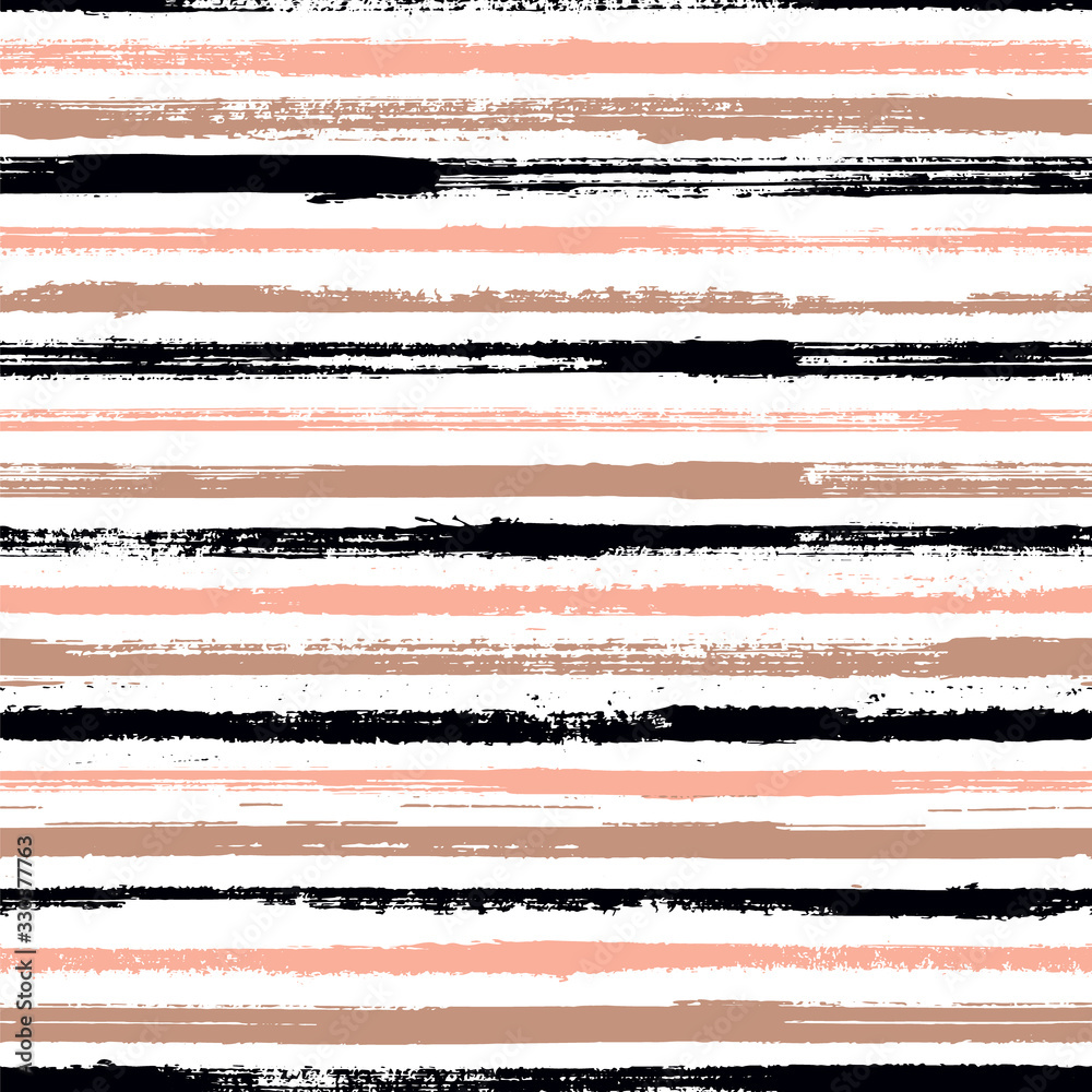 Fototapeta Grunge stripes seamless vector background pattern.