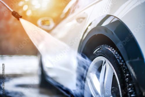 Photo Car wheel wash