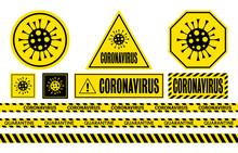 Coronavirus. COVID-19 Danger S...