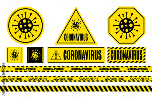 Leinwand Poster Coronavirus