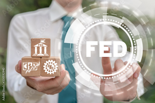 FED Federal Reserve Banking System Concept Fototapeta