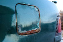 Corrosion And Rust On A Car Ta...
