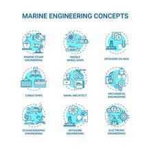 Marine Engineering Turquoise C...