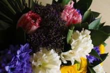 Bouquet Of Hyacinth Rannunculu...