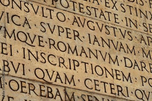 Fotografie, Obraz Latin ancient language and classical education