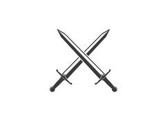 Sword Logo Icon Vector Illustr...