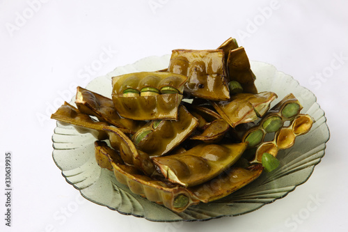 Fried Stinky Bean/petai which is served with sliced Tablou Canvas