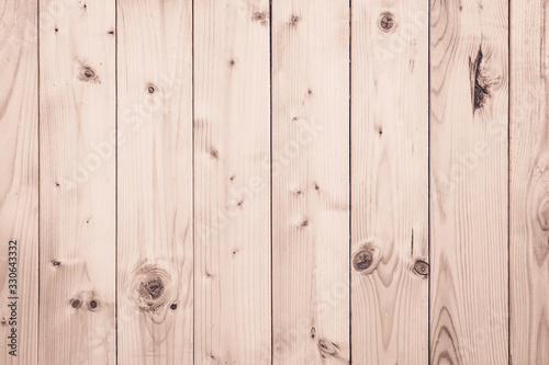 Old Wood plank brown texture for decoration background. Wooden wall all antique cracking furniture painted weathered white vintage peeling wallpaper. Plywood or woodwork teak hardwood seamless nature.