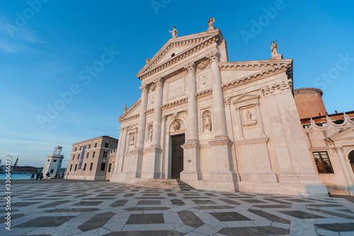 Fototapety, obrazy: Historical landmark San Giorgio Maggiore Church in Venice, Italy, Europe