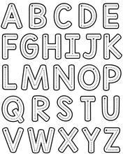 Teacher Font Trace Letter Form...