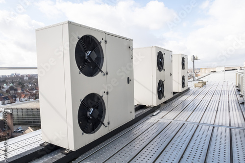 Cuadros en Lienzo cooling air conditioning