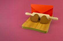 Handmade Heart Shaped Cookies ...