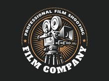 Emblem Film Cinema Camera, Vec...