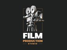 Cinema Camera - Vector Illustr...