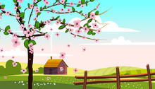 Lovely Countryside Landscape F...