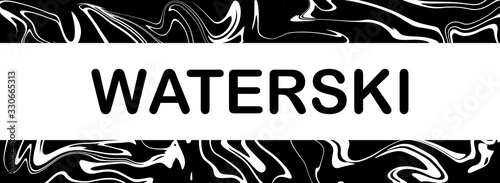Fényképezés web Sport Label Waterski