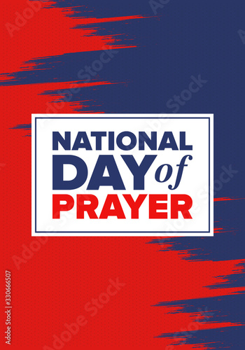 Vászonkép National Day of Prayer in United States