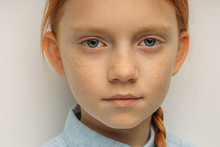 Close-up Portrait Of Serious C...