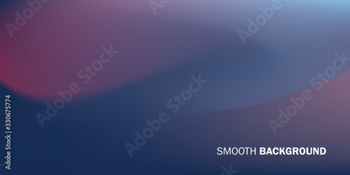 Modern Smooth Elegant Gradients Background Composition with Red Blue and Purple Fototapete