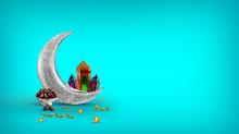 Ramadan Image Colorful Islamic Background