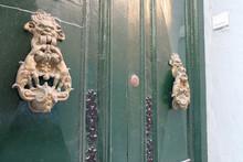 Door With Knockers In Valletta...