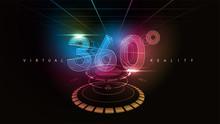 360 Logo Vector Template Modern Design.