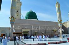 Green Dome At Nabawi 2020