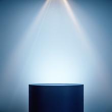 Empty Pedestal In Interior