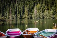 Morgentliche Ruhe Am Lacul Ros...