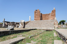 Roman Ruins Of The Ostia Capit...