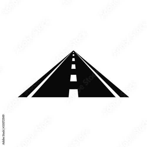Fototapety, obrazy: Road icon vector