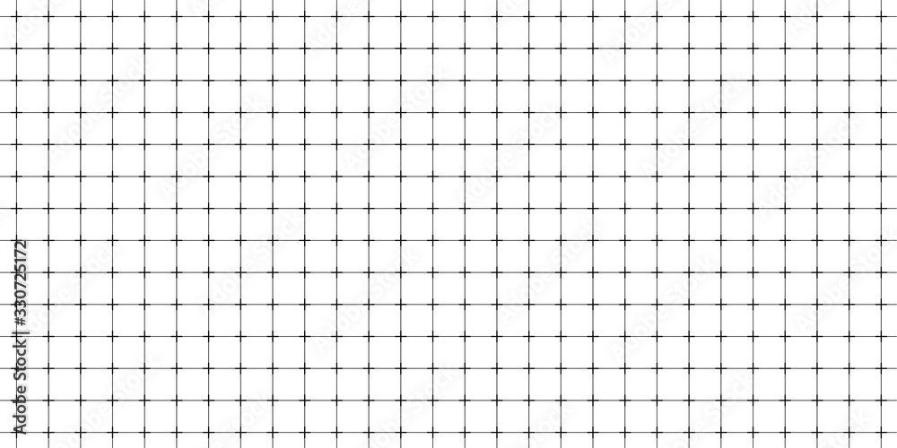 Fototapeta Lined paper with a seamless squared grid.