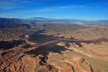 Colorado River In Nevada Und Arizona United States Of America
