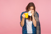 Treatment Of Seasonal Flu. Sic...