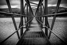 Symmetrical Jetty At Churn Clo...