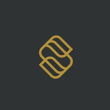 Royal Letter S Logo Design Wit...