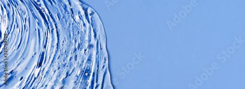 Obraz Antibacterial gel background. Virus protection or cosmetics concept. - fototapety do salonu