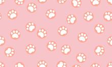 Animal Footprint Seamless Patt...